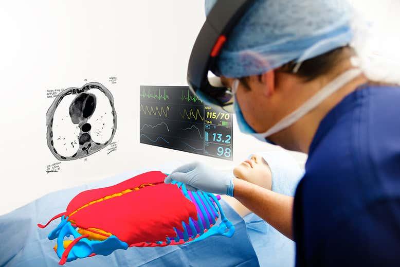 AR health care